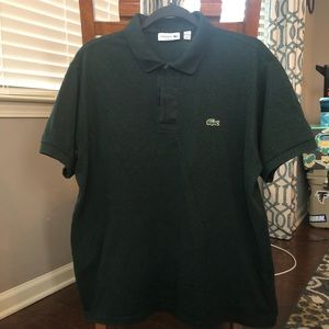 Dark green Lacoste polo